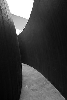 Installation view  Artwork © Richard Serra/Artists Rights Society (ARS), New York