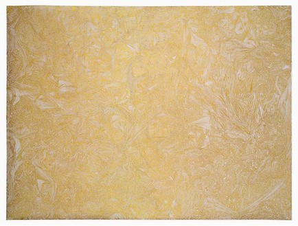 Richard Wright, Untitled (2.3.2009), 2009 Gold leaf on paper, 27 ⅝ × 37 3/16 inches (70 × 94.5 cm)