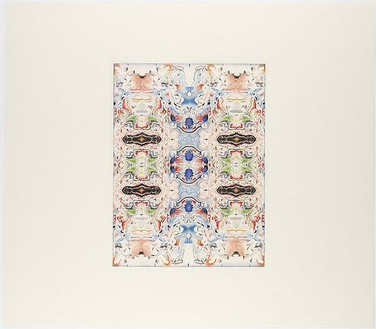 Richard Wright, Untitled (8.6.2009), 2009 Watercolor and gouache on paper, Paper size: 25 ⅝ × 29 5//16 inches (65 × 74.5 cm)