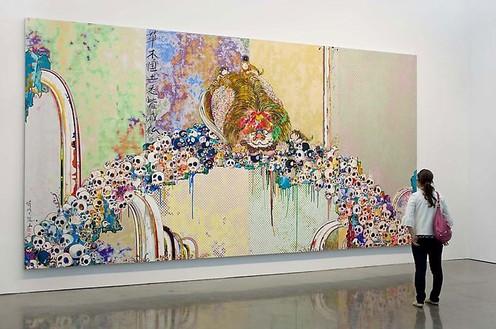 Installation view Artwork © Takashi Murakami/Kaikai Kiki Co., Ltd. All rights reserved