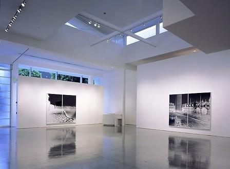 Vera Lutter Installation view