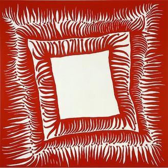 Yayoi Kusama, DEATH IS INEVITABLE, 2008 Acrylic on canvas, 76 ⅜ × 76 ⅜ inches (194 × 194 cm)