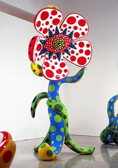 Yayoi Kusama, Flowers That Bloom at Midnight L1, 2009 Fiberglass reinforced plastic, metal and all-weather urethane paint, 191 × 78 ¾ × 79 ⅞ inches (485.1 × 200 × 202.9cm)Photo by Douglas M. Parker Studio