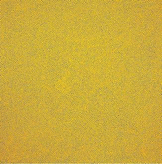 Yayoi Kusama, INFINITY-NETS(TBBBTY), 2008 Acrylic on canvas, 76 ⅜ × 76 ⅜ inches (194 × 194 cm)