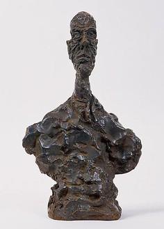 Alberto Giacometti, Buste d'homme, 1961 Bronze, height: 18 inches (45.7 cm)© Succession Alberto Giacometti (Fondation Giacometti + ADAGP), Paris 2010