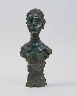 Alberto Giacometti, Buste d'Annette X, 1965 Bronze, 17 ¼ × 7 ¼ × 5 ½ inches (43.9 × 18.4 × 13.7 cm)© Succession Alberto Giacometti (Fondation Giacometti + ADAGP), Paris 2010