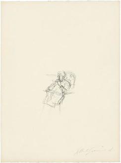 Alberto Giacometti, Mère de l'artiste assise IV, 1963 Lithograph, 25 ¾ × 19 inches (65.5 × 48.2 cm)© Succession Alberto Giacometti (Fondation Giacometti + ADAGP), Paris 2010
