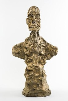 Alberto Giacometti, Buste d'homme (New York I), 1965 Bronze, height: 21 ¼ inches (54 cm)© Succession Alberto Giacometti (Fondation Giacometti + ADAGP), Paris 2010