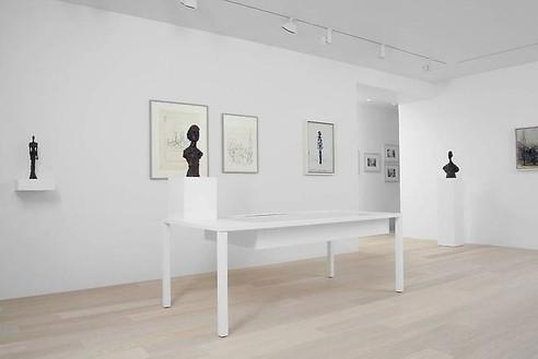 Installation view  Artwork © Succession Alberto Giacometti (Fondation Giacometti + ADAGP), Paris 2010. Photo: Annik Wetter