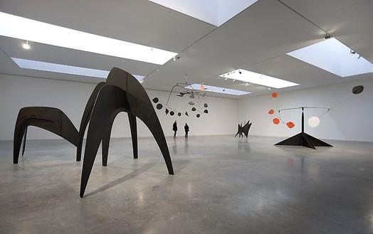 Alexander Calder Installation view, photo by Rob McKeever