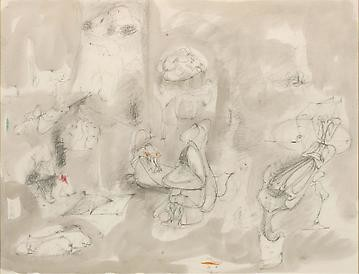 Arshile Gorky: Virginia Summer 1946, Davies Street, London