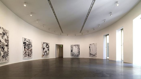 Installation view Artwork © Christopher Wool. Photo: Matteo Piazza