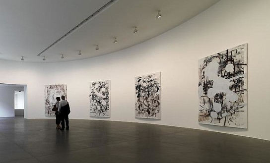 Christopher Wool Installation view, photo by Matteo Piazza