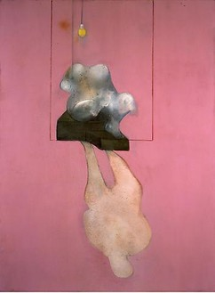 Francis Bacon, Still Life, Broken Statue and Shadow, 1984 Oil and pastel on canvas, 78 × 58 inches (198 × 147 cm)© 2010 The Estate of Francis Bacon