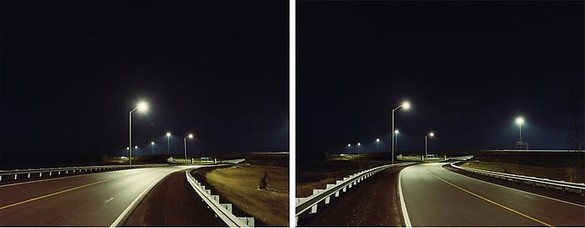 Dan Holdsworth, Untitled (Autopia), 1998 Chromogenic prints, in 2 parts, each: 41 ⅞ × 52 ¼ inches (106.5 × 132.6 cm), edition of 5