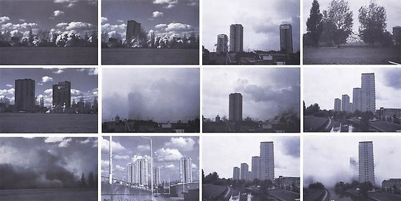Rachel Whiteread, Demolished, 1996 Set of 12 prints, each: 21 ¾ × 31 ¾ inches (55.3 × 80.8 cm), edition of 35© Rachel Whiteread