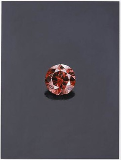 Damien Hirst, The Hancock (Red), 2006 Oil on canvas, 48 × 36 inches (121.9 × 91.4 cm)© Damien Hirst and Science Ltd. All rights reserved, DACS 2010