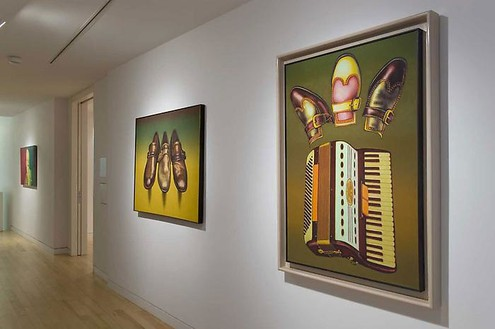 Ed Paschke, Curated by Jeff Koons Installation view, photo by Rob McKeever