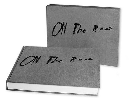 Ed Ruscha, On the Road, 2009 An Artist Book of the Classic Novel by Jack Kerouac, 14 ⅛ × 18 ¼ × 2 ¾ inches (35.9 × 46.6 × 7.1 cm), edition of 350