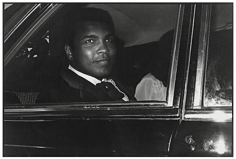 Jean Pigozzi, Muhammad Ali, New York City, USA, 1978, 1978 Archival pigment print, 11 × 14 inches (27.9 × 35.6 cm), edition of 30© Jean Pigozzi