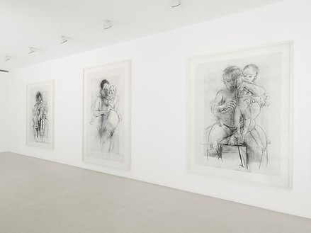 Installation view Artwork © Jenny Saville