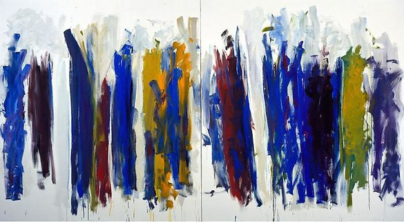 Joan Mitchell, Trees, 1990–91 Oil on canvas, 86 ¾ × 157 ½ inches (220.3 × 400 cm)© Estate of Joan Mitchell. Courtesy of the Joan Mitchell Foundation