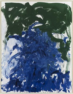 Joan Mitchell, Then, Last Time IV, 1985 Oil on canvas, 102 × 78 ¾ inches (259.1 × 200 cm)© Estate of Joan Mitchell. Courtesy of the Joan Mitchell Foundation