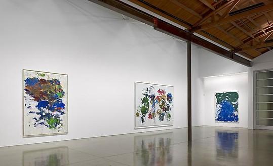 Joan Mitchell: The Last Decade Installation view, photo by Douglas M. Parker Studio