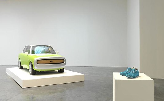 Marc Newson: Transport Installation view, photo by Rob McKeever