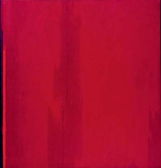 Clyfford Still, 1955-d, Ph-387, 1955 Oil on canvas, 117 ½ × 111 inches (298.4 × 281.9 cm)