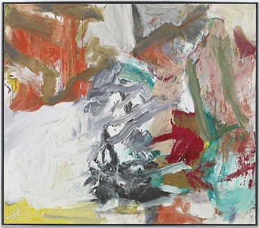Willem de Kooning, Untitled XXIV, 1977 Oil on canvas, 70 × 80 inches (177.8 × 203.2 cm)© 2010 The Willem de Kooning Foundation/Artists Rights Society (ARS), New York. Photo: Douglas M. Parker Studio