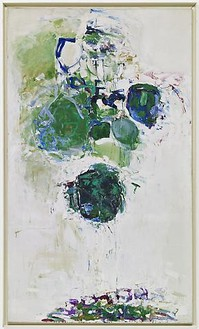 Joan Mitchell, Maple leave forever, 1968 Oil on canvas, 98 ¾ × 58 inches (251 × 147.3 cm)Photo: Douglas M. Parker Studio