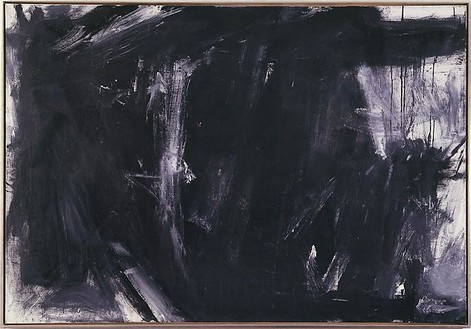 Franz Kline, Laureline, 1956 Oil on canvas, 57 × 81 inches (145 × 206 cm)