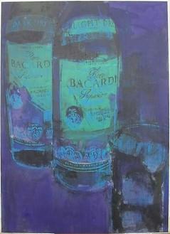 Enoc Perez, Bacardi, 2009 Oil on canvas, 60 × 42 inches (152.4 × 106.7 cm)
