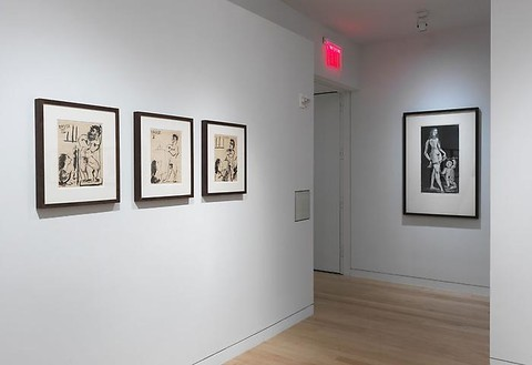 Installation view Artwork © 2010 Estate of Pablo Picasso/Artists Rights Society (ARS), New York. Photo: Rob McKeever