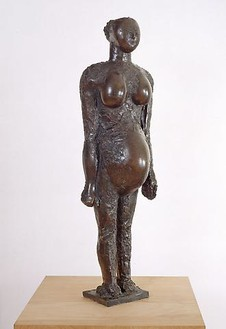 Pablo Picasso, La femme enceinte I, 1950 Bronze, 41 × 8 ¾ × 12 ½ inches (104 × 22 × 32 cm), edition of 6© 2010 Estate of Pablo Picasso/Artists Rights Society (ARS), New York