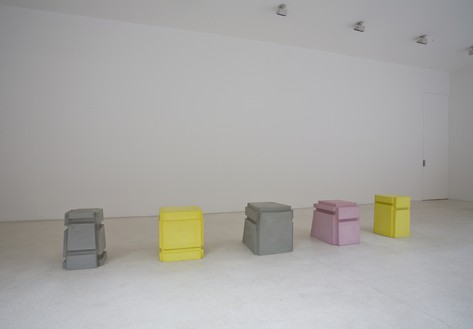 Installation view with Rachel Whiteread, Untitled (2010) Artwork © Rachel Whiteread