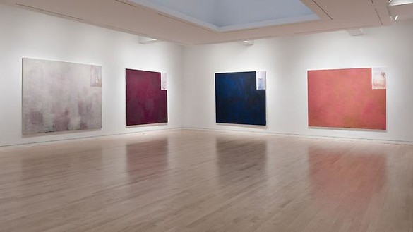 Richard Prince: Tiffany Paintings Installation view, photo by Rob McKeever