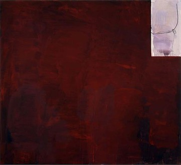 Richard Prince, The Fountainhead, 2010 Inkjet and acrylic on canvas, 86 × 92 ½ inches (218.4 × 235 cm)