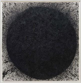 Richard Serra, Baldwin, 2009 Paintstick on handmade paper, 78 ½ × 78 ½ inches (199.4 × 199.4 cm)© 2010 Richard Serra/Artists Rights Society (ARS), New York