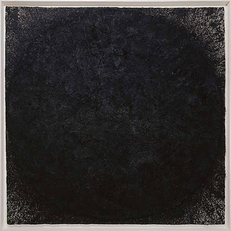 Richard Serra, Butor, 2009 Paintstick on handmade paper, 78 ½ × 78 ½ inches (199.4 × 199.4 cm)© 2010 Richard Serra/Artists Rights Society (ARS), New York