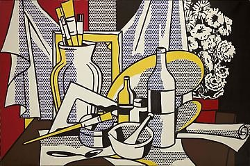 Roy Lichtenstein: Still Lifes, West 24th Street, New York