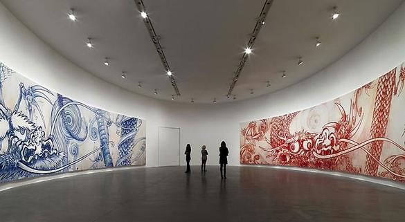Installation view Artwork © Takashi Murakami/Kaikai Kiki Co., Ltd. All rights reserved. Photo: Matteo Piazza