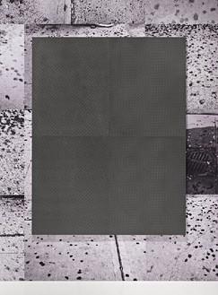 Adam McEwen, The Collyer Bros., 2011 Graphite, 90 × 70 inches (228.6 × 177.8 cm)Photo by Douglas M. Parker Studio