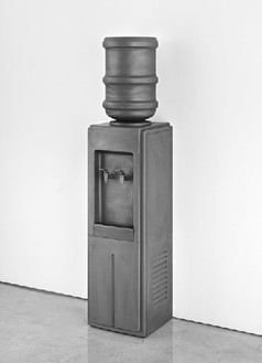Adam McEwen, Untitled, 2011 Graphite, 56 × 12 ¾ × 14 inches (142.2 × 32.4 × 35.6 cm), edition of 3Photo by Douglas M. Parker Studio