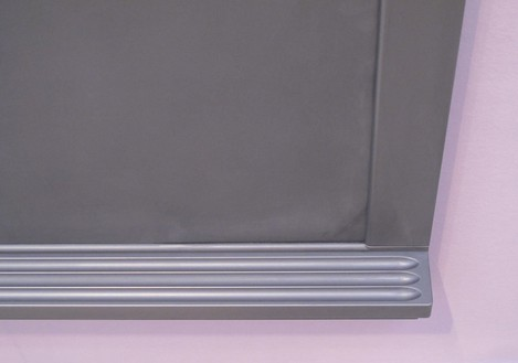 Adam McEwen, Untitled, 2011 (detail) Graphite, 54 ¼ × 112 × 3 ¼ inches (137.8 × 284.5 × 8.3 cm), edition of 3Photo by Ben Lee Ritchie Handler