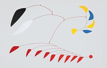 Alexander Calder, Davies Street, London