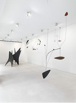 Alexander Calder Installation view, photo by Mike Bruce
