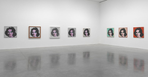 Andy Warhol: Liz Installation view, photo by Rob McKeever