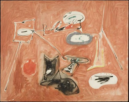 Arshile Gorky, Untitled (Last Painting), 1948 Oil on canvas, 30 × 38 inches (76.2 × 96.5 cm)